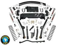 "Jeep XJ Cherokee 4.5"" Long Arm Suspension Lift Kit, 84-01 XJ, 68922/61622"