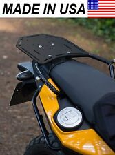 AVT BMW F650GS Twin / F700GS / F800GS Rear Luggage Rack - ROTOPAX Compt. BLACK