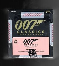 2016 James Bond Classics Trading Cards Sealed Archive Box  With Honor Blackman
