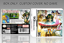 "NINTENDO DS : DRAGON QUEST 4. UNOFFICIAL COVER. ORIGINAL BOX. ""NO GAME"".ENGLISH."