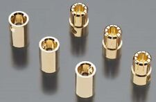 Castle Creations  8.0MM 8X3 8mm Female/Male 8.0mm Bullet Connectors CASCCBUL8MM