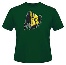 Mens Retro T-Shirt, Land of the Giants, Ideal Gift or Birthday Present.