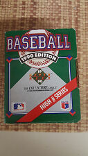 1990 UPPER DECK BASEBALL HIGH # SERIES COMPLETE SET - ALL MINT CONDITION
