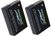offerta x 2 batterie en-el14 enel14 patona premium D3100 D3200 D5100 D5200 D5300