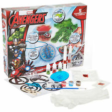 MARVEL AVENGERS CREATIVE EXPERIMENTS MAKE & CREATE SCIENCE TOY SET 36-0198