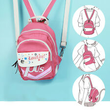 Lovelive! Love live Cute Pink Anime Multifunctional Shoulder bag School Backpack