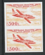 France 3216 - 1954 AIR 500f IMPERF PAIR  - a Maryland FORGERY unused