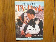 April 11, 1993 Detroit Free Press TV Book/Magazine (LAURA   LUNNEY/CLIVE   OWEN)