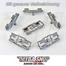 8x Zierleistenklammer Befestigung Clips für BMW X5 E53 - 51717006757 NEU