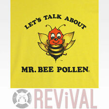 Vintage 80s MR BEE POLLEN Yellow Sex Funny Screen Stars T Shirt Medium M