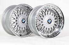 BBS RS/RC090 8x17 zoll poliert Felgen BMW E30 M3 E36 E46 E32 E34 E38 E39 wheels