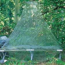 NEW Military Army Mosquito Camping Bed Net w/ Stuff Sack Adult Single Green