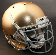 *CUSTOM* NOTRE DAME FIGHTING IRISH Schutt AiR XP REPLICA Football Helmet w/EGOP