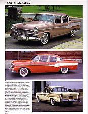 1956 Studebaker President + Hawk Article - Must See !!