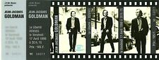 RARE / TICKET CONCERT - JEAN JACQUES GOLDMAN A RENNES 17 AVRIL 1998 /COMME NEUF