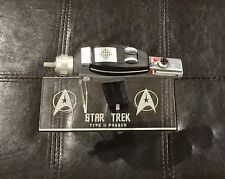 Star Trek TOS Playmates Phaser Pistol Gun 4 Watt Blue Laser Not Master Replica