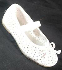 NEW Girls Toddler RACHEL SHOES LIL BRIT 2 WHITE  Flats Dress Shoes SZ 8