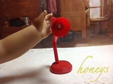 For AmericanGirl Doll Furniture RED LED MINI DESK LAMP Book Lamp That Lights Up