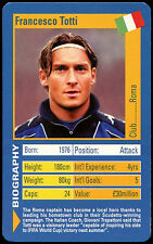 Francesco Totti - World Football Stars - Top Trumps Card (C141)
