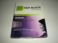 H&R Block 2011 Deluxe & State. Formerly called TaxCut. Imports Turbotax. New.