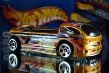 2002 Hot Wheels Planet Hot Wheels.com Geothermal energy car Deora II gold