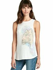 Lucky Brand - NWT - XL - Retro 80's Inspired Tiger Graphic Muscle Tee Tank Top