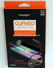 Spigen Steinheil Screen Protector for Samsung Galaxy S6 Edge - full coverage