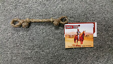 Martin  Saddlery Braided Rawhide Bit Hobble Medium (New) Horse Tack