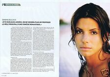 Coupure de presse Clipping 2002 Sandra Bullock  (2 pages)