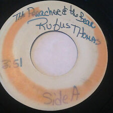 "RARE SOUL FUNK TEST PRESSING 45/RUFUS THOMAS""THE PREACHER & THE BEAR""  HEAR"
