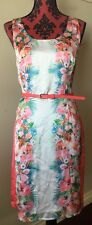 Katies Pencil Dress In A 12 Fully Lined Nwt Belt Included