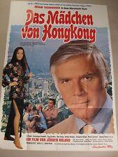 DAS MÄDCHEN VON HONGKONG - Poster Plakat - Jürgen Roland  Joachim Fuchsberger