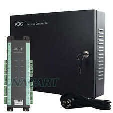 ADCT Hi-end TCP/IP Met Access Controller Panel W/ Power Supply Case For 4 Door