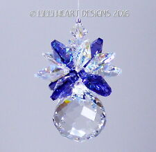 m/w Swarovski 20mm Mini Mozart Ball Pineapple Suncatcher AB Lilli Heart Designs
