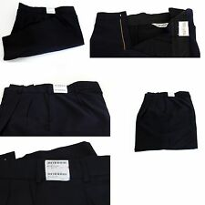 NEW UNITED UNIFORMS 10180 FIRE EMS POLY WOOL PLEATED UNIFORM SHORTS NAVY BLUE 48