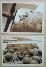 Vintage Style Retro Postcards Lot Collector Snailmail Americana Plane Pinup