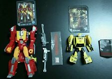 Transformers Titans Return Hot Rod and Bumblebee Complete