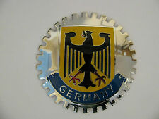 "Porsche 356 911 914 boxster BMW Mercedes German ""Germany"" Eagle grille badge."