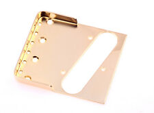 "Tele® Short Wall Bridge Gold 0.60"" CR Steel - Made in USA - B.Y.O.B Project"