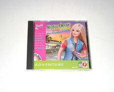 Detective Barbie 2 The Vacation Mystery PC Game 1999 Mattel Complete CD-ROM
