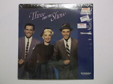 "Three For The Show (1955, Pioneer Special Edition, Widescreen) 12"" Laserdisc"