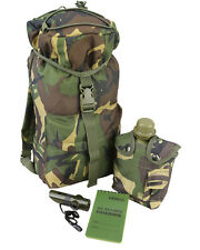 Kids Camouflage DPM WOODLAND PATROL PACK SET Childrens Army Military (Set 65)