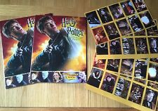 2 HARRY POTTER AND THE HALF BLOOD PRINCE STICKER ALBUM BOOK PANINI +40 Stickers