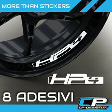Logo adesivo per cerchi moto BMW HP4 x8  racing s1000rr sticker  strip