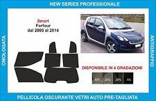 pellicole oscuranti vetri  smart forfour dal 2005 al 2014 kit completo