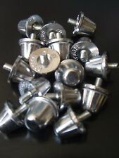 Rugby union aluminium rivets 15mm x 16 argent