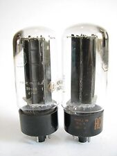 2 matched 1959-60 RCA 5U4GB tubes - Hickok TV7D tested @ 59/60, 60/63, min:40/40