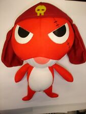 "Used Sgt. Frog Keroro Gunso Giroro 10"" stuffed toy plush doll figure"