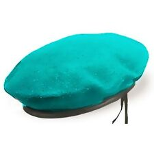 Military Blue Beret Of Infantry Brigade Army Hat Soldier Cap Uniform Police