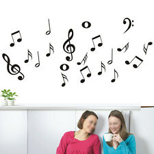 Musical Notes Music Wall Decal Art Decor Vinyl Home Living Room Stickers